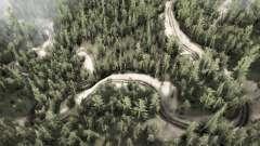 6 Schlange Straße für MudRunner