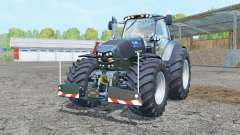 Deutz-Fahr Agrotron 7250 TTV Warrior twin wheels für Farming Simulator 2015