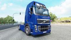 Volvo FH16 750 Globetrotter XL cab 2012 v1.3 pour Euro Truck Simulator 2