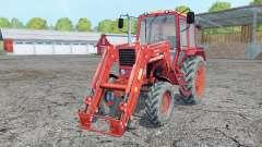 Belarus MTS 82 Frontlader für Farming Simulator 2015