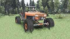 Jeep Wrangler (YJ) 40OZ Juggy für Spin Tires