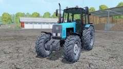 MTZ-1221 Biélorussie tracteur à roues arrière jumelées pour Farming Simulator 2015
