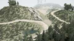 Mines abandonnées v1.2 pour MudRunner