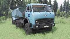 MAZ-504В bleu doux pour Spin Tires