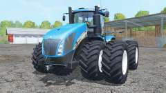 New Holland T9.700 double wheels pour Farming Simulator 2015