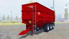 Krampe Big Body 900 S new tires pour Farming Simulator 2013