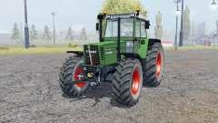 Fendt Favorit 615 LSA Turbomatik double wheels für Farming Simulator 2013