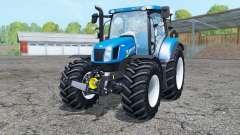 New Holland T6.175 interactive control pour Farming Simulator 2015
