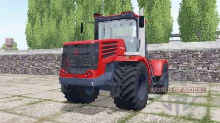 Kirovets K-744Р4 mit einer Auswahl an Konfigurationen für Farming Simulator 2017