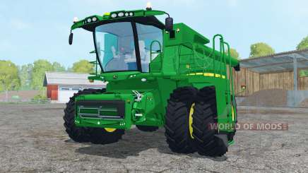 John Deere S680 dual front wheels für Farming Simulator 2015