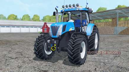 New Holland T7050 2007 pour Farming Simulator 2015