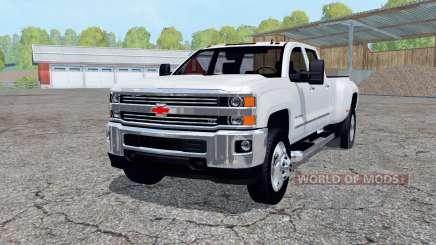 Chevrolet Silverado 3500 HD Crew Cab 2016 für Farming Simulator 2015