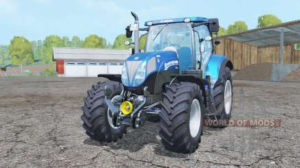 New Holland T7.185 BluePower pour Farming Simulator 2015