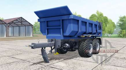 Hilken HI 2250 SMK blue für Farming Simulator 2017