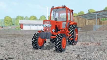 MTZ 82 Biélorussie éléments mobiles pour Farming Simulator 2015