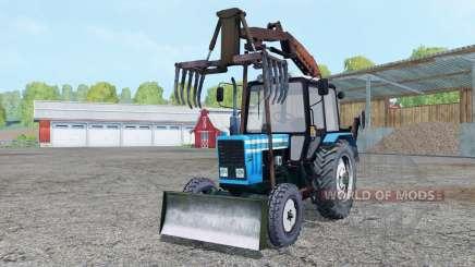 MTZ-82.1 grappin pour Farming Simulator 2015