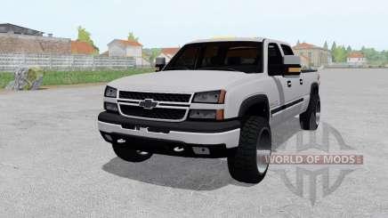 Chevrolet Silverado 2500 HD Crew Cab 2002 für Farming Simulator 2017