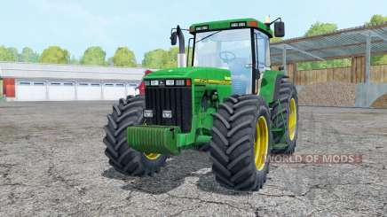 John Deere 8400 interactive control für Farming Simulator 2015