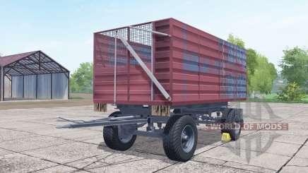 Conow HW 80 desaturated red pour Farming Simulator 2017