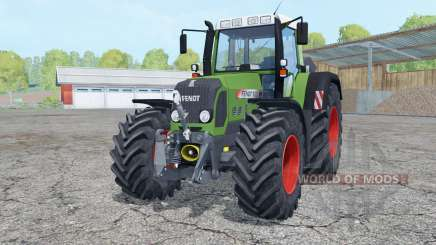 Fendt 820 Vario TMS with weight für Farming Simulator 2015