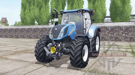 New Holland T6.160 wheels selection für Farming Simulator 2017