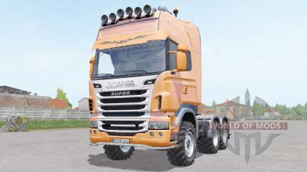 Scania R730 Toplinᶒ pour Farming Simulator 2017
