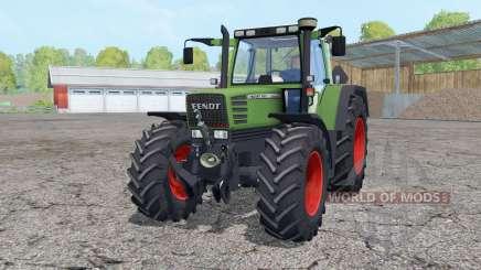Fendt Favorit 515C Turbomatik front loader für Farming Simulator 2015