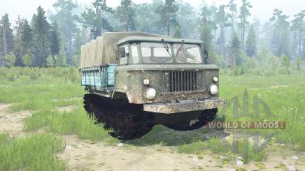 GAZ 66 caterpillar pour MudRunner
