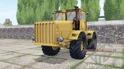 Kirovets K-700 le choix de la couleur pour Farming Simulator 2017
