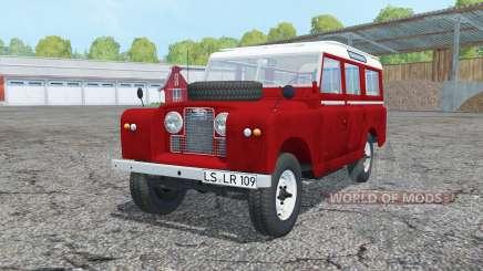 Land Rover Series II 109 Station Wagon 1965 für Farming Simulator 2015
