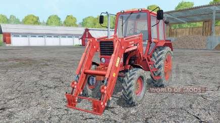 Belarus MTZ 82 chargeur frontal pour Farming Simulator 2015