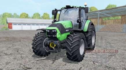 Deutz-Fahr Agrotron 6190 TTV wheels weightᶊ pour Farming Simulator 2015