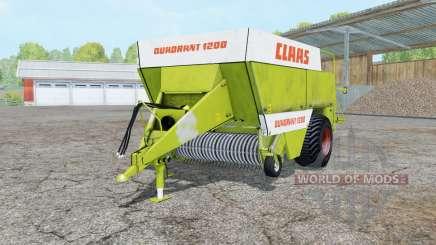 Claas Quadrant 1200 für Farming Simulator 2015