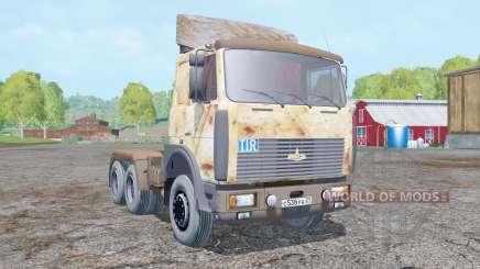 MAZ 642208 rouillé pour Farming Simulator 2015