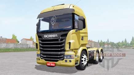 Scania R480 Highline pour Farming Simulator 2017