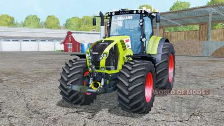 Claas Axion 850 Räder weightᶊ für Farming Simulator 2015
