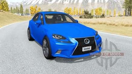Lexus IS 350 F Sport (XE30) 2014 pour BeamNG Drive