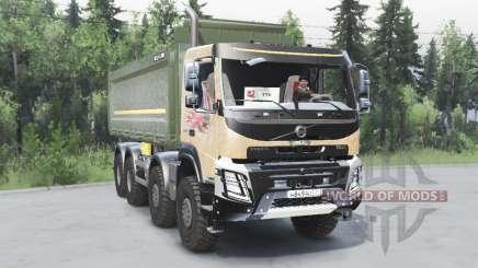 Volvo FMX 8x8 2014 für Spin Tires