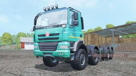 Tatra Phoenix T158 8x8 hooklift pour Farming Simulator 2015