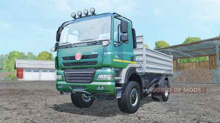 Tatra Phoenix T158 4x4 tipper 2011 pour Farming Simulator 2015