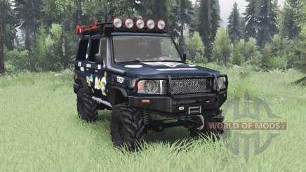 Toyota Land Cruiser 70 (J76) 2007 Expedition für Spin Tires