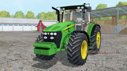 John Deere 7730 wheels weights pour Farming Simulator 2015