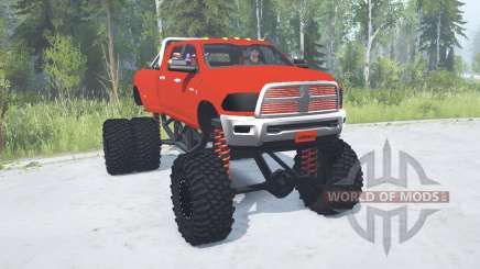 Dodge Ram 3500 Heavy Duty lifted pour MudRunner