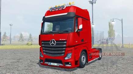 Mercedes-Benz Actros (MP4) flashing light beacon für Farming Simulator 2013