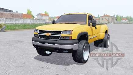 Chevrolet Silverado 3500 Regular Cab Duramaᶍ für Farming Simulator 2017