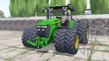 John Deere 7930 double wheels pour Farming Simulator 2017