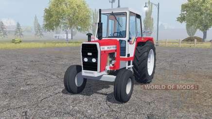 Massey Ferguson 690 front loader pour Farming Simulator 2013
