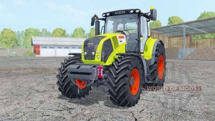 Claas Axion 850 with weight für Farming Simulator 2015