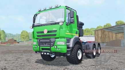 Tatra Phoenix T158 6x6 tractor 2011 pour Farming Simulator 2015
