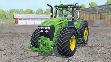 John Deere 7930 avant loadeꞧ pour Farming Simulator 2015